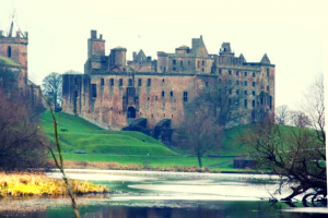Linlithgow Palace is just ten minutes from Oatridge
