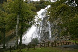 Powerscourt Waterfall is not far from Dublin