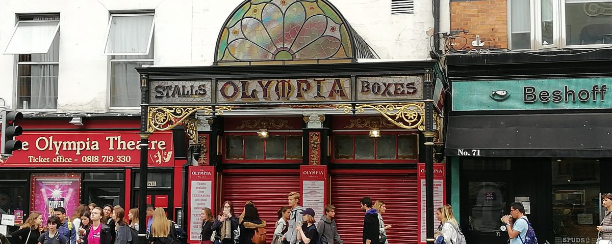 The Olympia on Dame Street is just two minutes from Oscars International