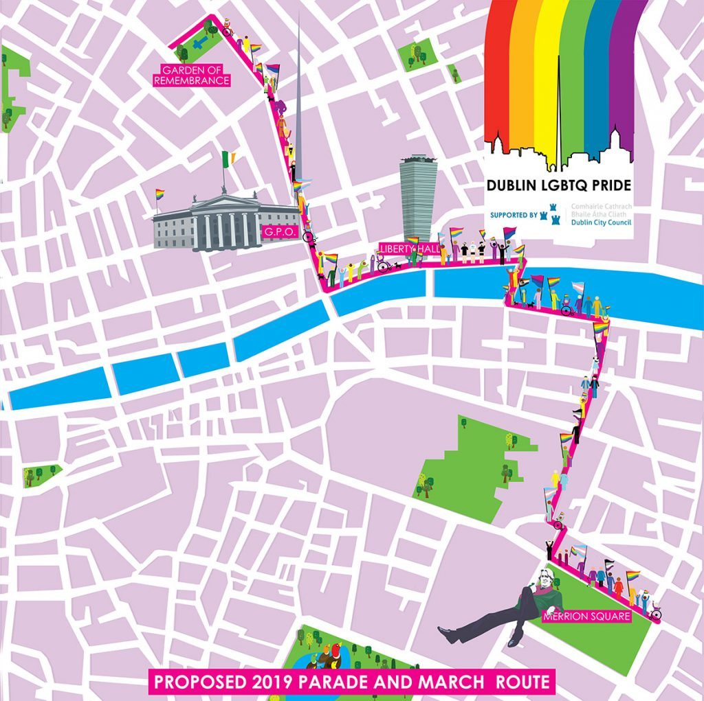 Learning English in Dublin with Oscars INternational English Language School - we recommend checking out the Pride Parade this Saturday